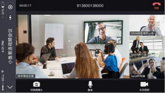 小鱼易连引领行业发展 用微信小程序也能开专业级视频会议